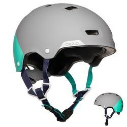 轮滑运动透气轻盈成人头盔 OXELO