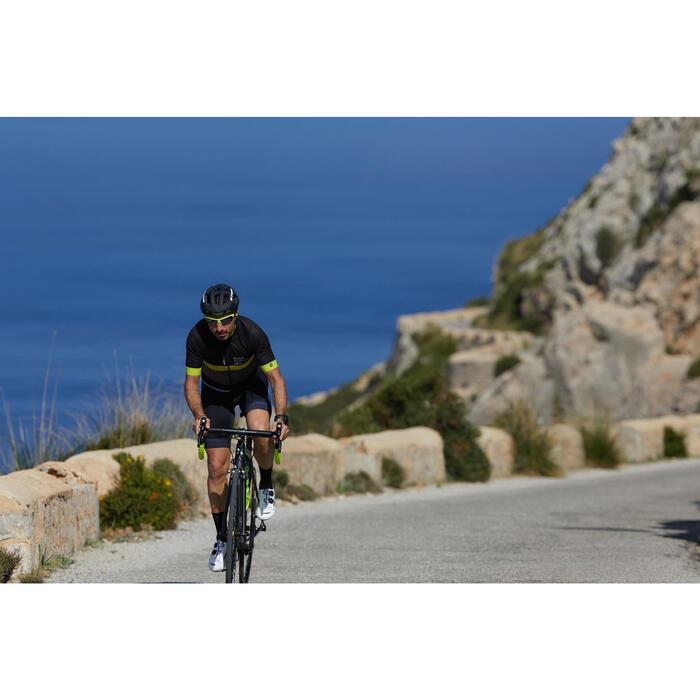 RoadRacing 500 短袖骑行运动衫- 黄色