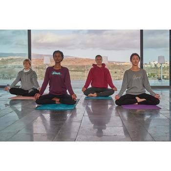 8毫米舒缓瑜伽垫 - 紫色