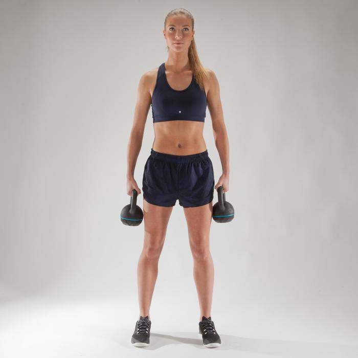 500 循环训练女式短裤 - 藏青色
