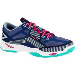 女子排球鞋 V500 -蓝色