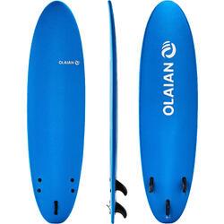 冲浪稳定耐用40公斤以下的冲浪者泡沫冲浪板 OLAIAN 100 Foam