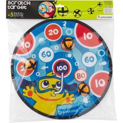 飞镖运动儿童 手眼协调锻炼粘粘球 多重设计 安全黏黏求 GEOLOGIC CLASSIC VELCRO DARTBOARD