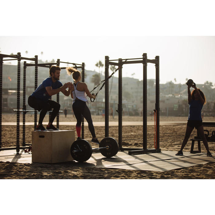 500 循环训练女式短裤 - 黑色