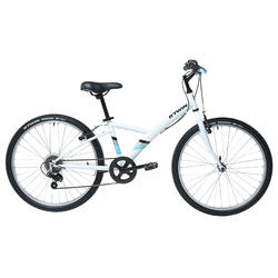 "Original 100 Kids' 24"" Hybrid Bike 9-12 Years"