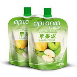 铁人三项运动梨子苹果泥两包装 APTONIA