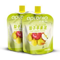 梨子苹果泥x2