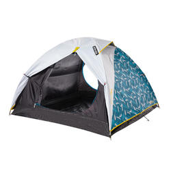 ARPENAZ 3 FRESH&BLACK | 3 person camping tent white (China Model)
