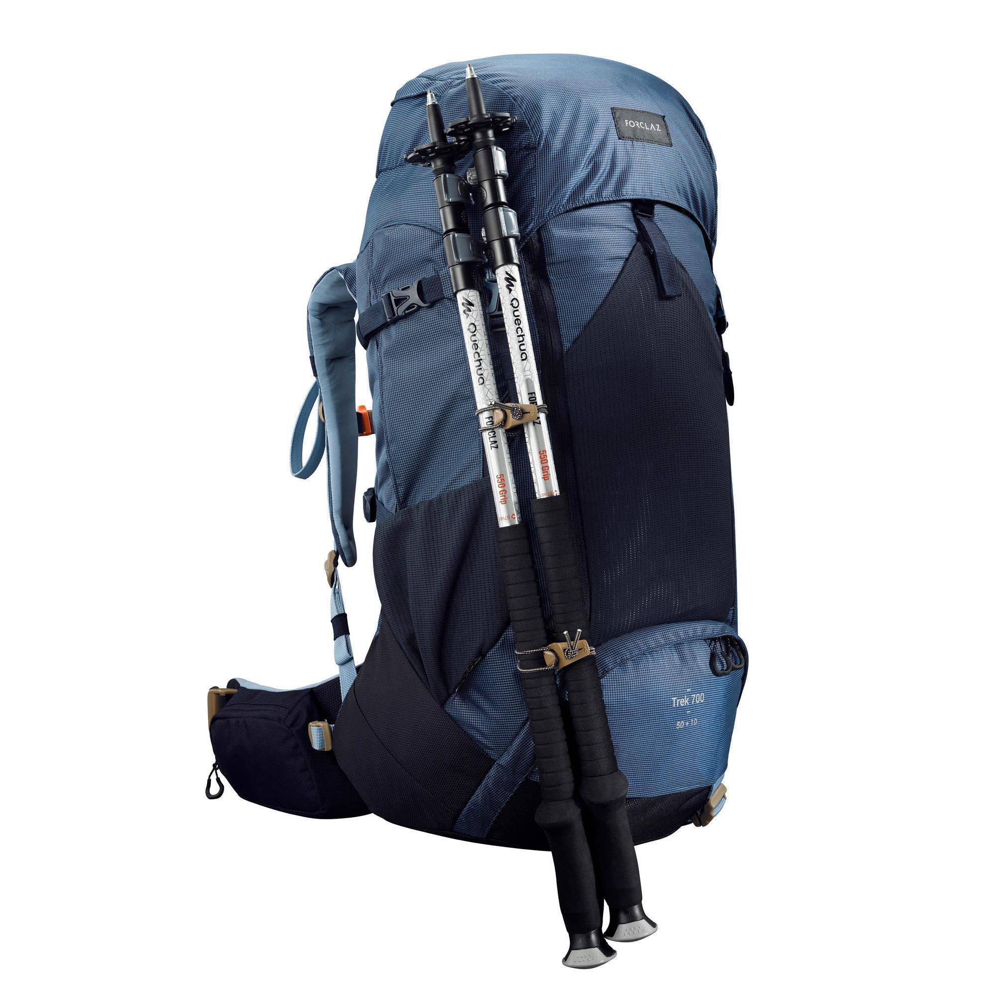 f78eac607 Forclaz 60 Blue Hiking Backpack- Fenix Toulouse Handball