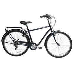 自行车运动城市休闲自行车6级变速 B'TWIN Elops 120