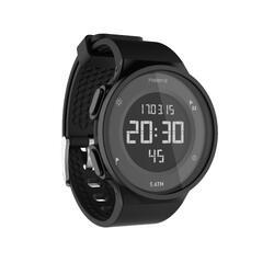 运动附件防水男女电子表 KALENJI 时尚多功能可换表带手表 W500