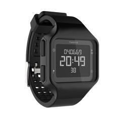 运动附件防水男女电子表 KALENJI 方形多功能手表及手表套装 W500+