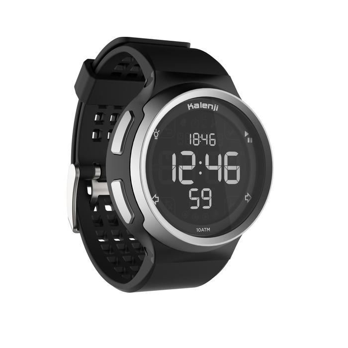 W900 男士跑步运动秒表 黑色
