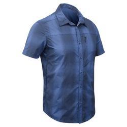 户外运动快干舒适男士登山衬衫 QUECHUA SHIRT ARPENAZ 500