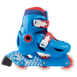 男童直排轮溜冰鞋Play 3 Sizes 8C to 9.5C