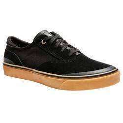 成人低帮滑板鞋Vulca 500 - Black/Rubber