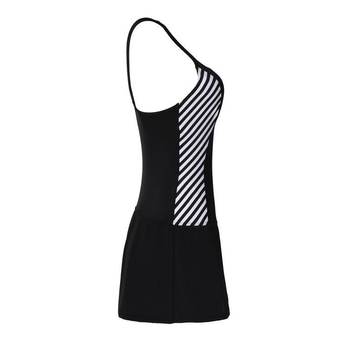 女式连体裙式泳衣Vega - Twi Black