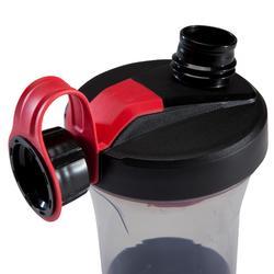 蛋白粉摇杯500系列 400毫升 - 黑色/红色