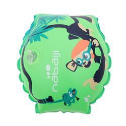 """儿童游泳臂圈11-30 公斤 - """"MONKEY"""" print"""