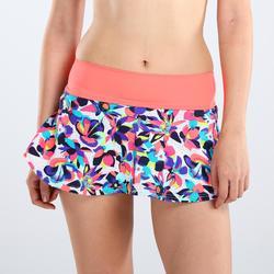 冲浪修身 速干女士泳裙 带内衬沙滩衬裤 OLAIAN