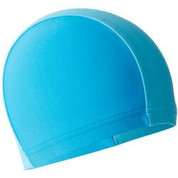 婴儿双色网布泳帽Blue