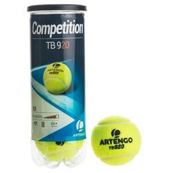 网球TB920 3只装-黄色