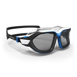 游泳面罩ACTIVE ASIA L号 , Black Blue, Smoke Lenses
