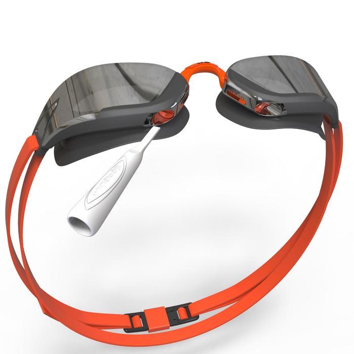 游泳眼镜900 B-FAST - Black Orange, Smoke Lenses