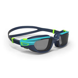 游泳眼镜500 SPIRIT S号- Blue Green, Smoke Lenses