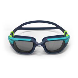 游泳眼镜500 SPIRIT S号- Blue Green, Smoke Lenses