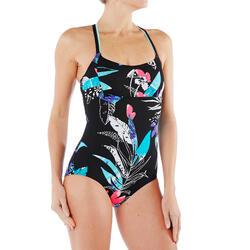 水中有氧健身运动女式水中健身连体抗氯泳衣 NABAIJI
