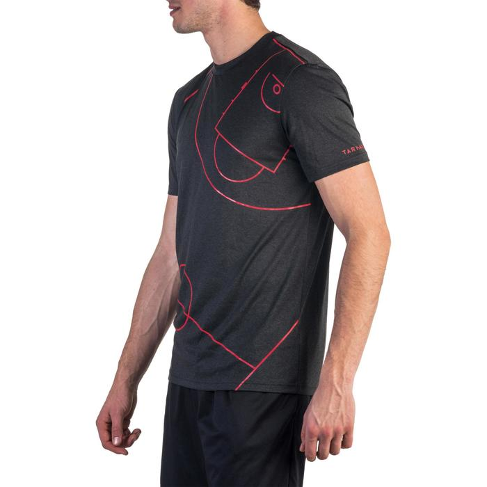 篮球T恤Fast 初学者/有经验的运动员 - 黑色/红色