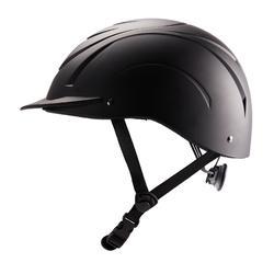 C 500 马术头盔 - 黑色
