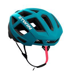 自行车运动一体成型 旋钮调节山地公路头盔 B'TWIN Aerofit900
