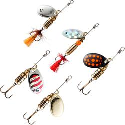 旋转亮片套装PREDATOR FISHING SPINNER SET SVARTAN NEW