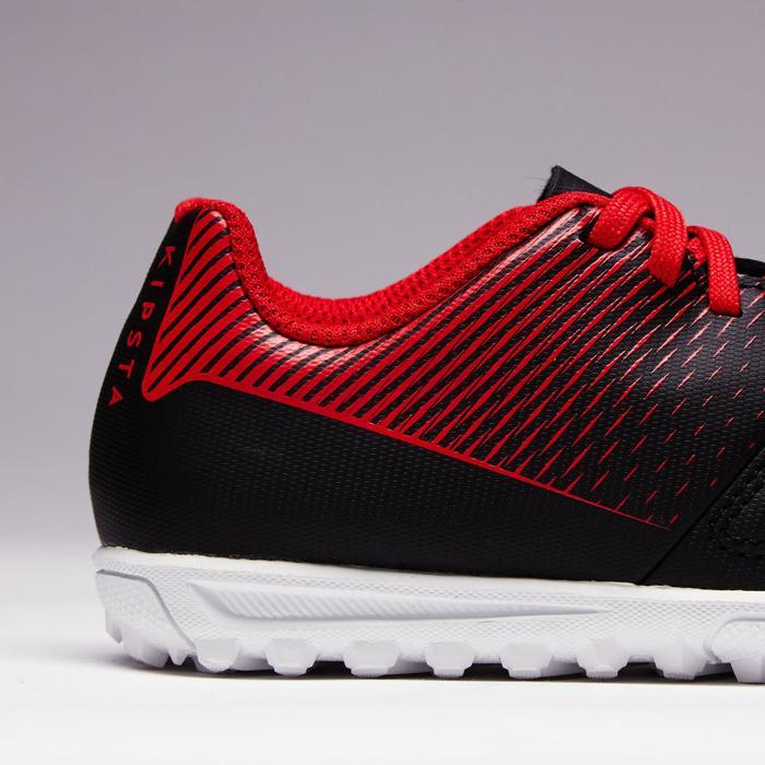 儿童硬地足球鞋 AGILITY 100 HG- 黑色/白色/红色