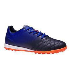 青少年短钉足球鞋 Agility 700 HG - 黑色/蓝色
