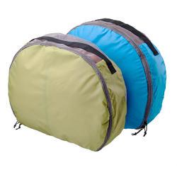 半月形储物包(2 件装),适合 70 至 90 升背包