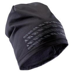 成人足球帽Keepdry 500- 黑色