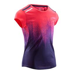 跑步运动快干柔软透气女童短袖T恤 KALENJI RUN JR