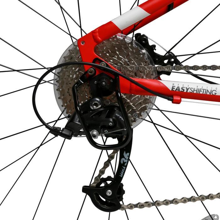混合路面自行车Riverside 500 -白色/红色