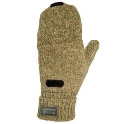 荒野探险羊毛手套-黄色