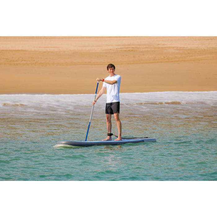 100 Inflatable 10'7 Touring Stand Up Paddle - Blue - 1412562
