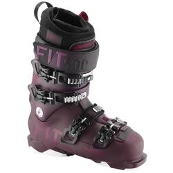 女式双板滑雪鞋 DOWNHILL EVOFIT 900 - PURPLE