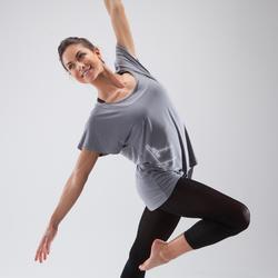 现代舞--舞蹈女士短袖T恤 DOMYOS
