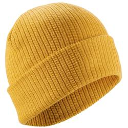 成人滑雪保暖帽 黄色FISHERMAN - OCHRE