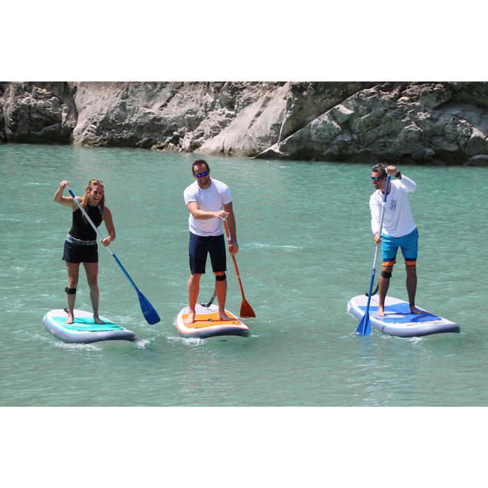 100 Inflatable 9'8 Touring Stand Up Paddle - Orange - 1415259