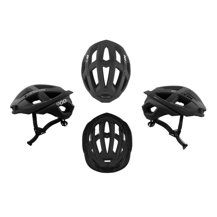 骑行运动头盔 - 黑