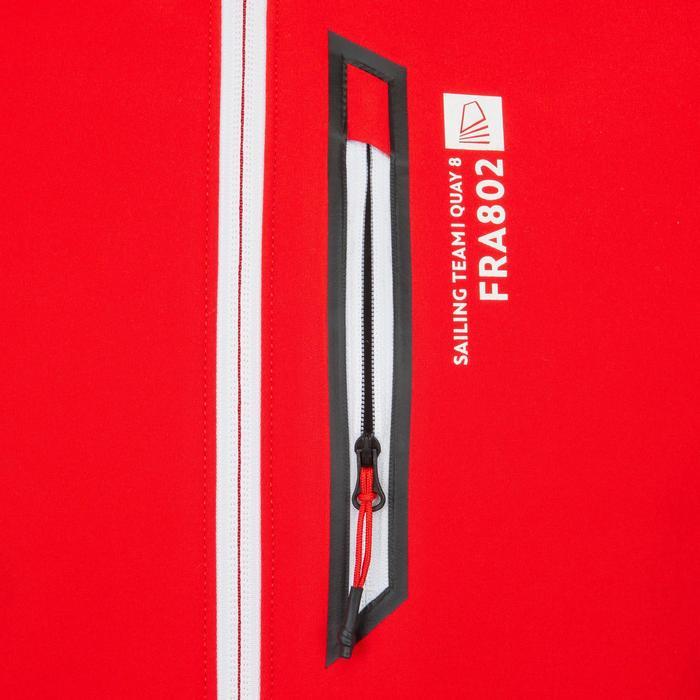 男式帆船软壳夹克Race - Corporate Red
