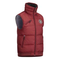 500 保暖马术运动夹克- 酒红色